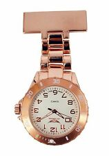 NY London Men's Ladies Rose Gold Coloured Nurse Doctor Paramedic Watch