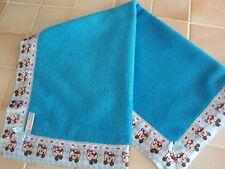 Baby bedding Handmade Mickey Mouse Satin and Blue Fleece Fleece Blanket