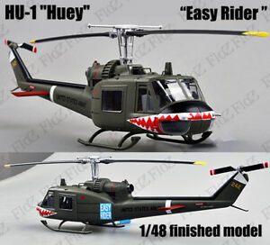 UH-1 Iroquois Huey easy rider shark mouth finished 1/48 Easy model helicopter