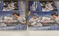 X2 2020 Topps Chrome Factory Sealed Blaster 2 Box Lot Luis Robert Bichette RC
