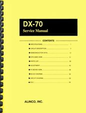 Alinco DX-70 Transceiver SERVICE MANUAL