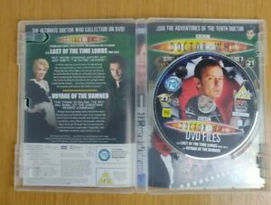 Doctor Who DVD Files #21 Last of the Time Lords & Voyage of the Damned - Minogue