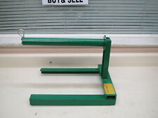 Greenlee 654 Wire Rope Reel Stand Max Reel Diameter 24 Used Free Shipping