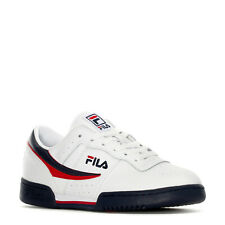 FILA ORIGINAL FITNESS TRAINERS SPORTS SNEAKERS MEN SHOES WHITE/BLUE SIZE 10 NEW