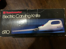 Toastmaster Corded Electric Carving Knife/Slicer #6110