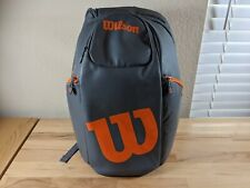 Wilson Countervail Tennis Bag Backpack Orange/Grey