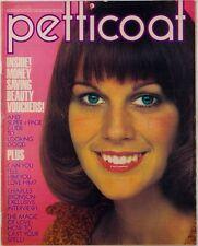 CHARLES BRONSON Jill Ireland Mary Quant BIBA Liberty  FASHION PETTICOAT magazine