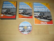 Aeroporti SPAGNOLI 2 PC CD ROM add-on di espansione Simulatore di volo SIM 2004 FS2004