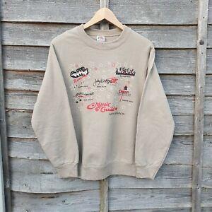 2004 Biege Graphic Sweatshirt From USA