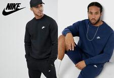 Nike Air Club Sweater Pullover sweatshirt Crewneck Pulli NEU Hoodie schwarz blau
