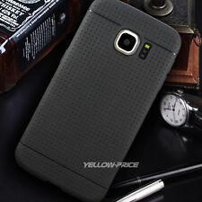 Samsung Galaxy S6 Edge TPU Silicone Case Cover +3 of Screen Protector -Black
