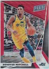 DONOVAN MITCHELL 2018 Panini National VIP NSCC Gold Pack Red Wave #/25 Jazz