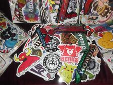 Huge Job Lot of 200x Stickers for Resale Market Van Skateboard Sticker Bomb VW