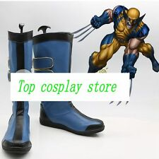 x-men Wolverine James Logan Howlett ver 2 cos Cosplay Shoes boots shoe