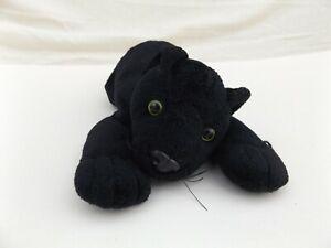 Rav Rushden Black Panther Plush Soft Toy Cat Cuddly Teddy Beanie Animal