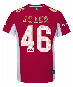 NFL Football Trikot Jersey Shirt San Francisco 49ers 46 rot est. Moro Majestic