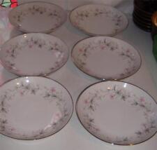 "Wentworth Fine China ""Priscilla 1514"" Coupe Soup Bowls (6) Japan"