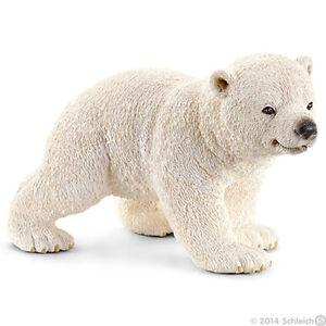NEW SCHLEICH 14708 Polar Bear Cub Walking RETIRED