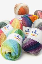 55/% Cotone Gomitolo di Lana da 500 g YarnArt Flowers Multicolore Bordeaux Lilla Grigio 286