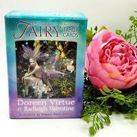Fairy Tarot Cards A 78-Card Deck Guidebook Doreen Virtue Complete 2015 Release