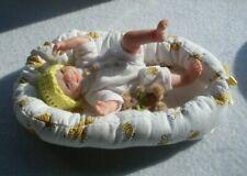 "ooak sculpt doll/hand made/artist made doll polymer clay reborn baby 5"""