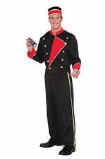 Adult Vintage Hollywood Movie Usher Costume, Standard