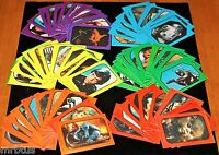 1983 STAR WARS COMPLETE SET 66 STiCKERS Return of the Jedi Topps Cards * 33 x 2