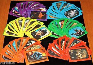 1983 STAR WARS COMPLETE SET 66 STiCKERS Return Jedi Topps Cards 33 x 2