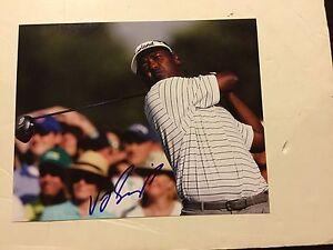 Vijay Singh Hand Signed 8x10 Photo Autographed a