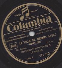 Orchestre de vienne: la fille de Madame Angot-ouverture