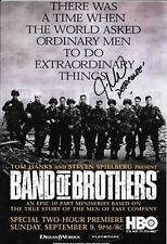 JAMES MADIO FRANK PERCONTE BAND OF BROTHERS RARE BAND OF BROTHERS SIGNED PHOTO