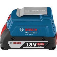 Bosch USB BATTERY CHARGER ADAPTOR 18V 2Ah 2-Ports, Flexible Power System