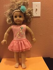 American Girl Doll Preowned 18� 18 F 10 Pink outfit
