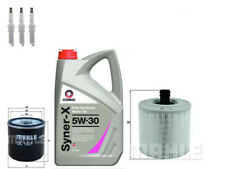 VAUXHALL ASTRA MK7 1.0 1.4 SERVICE KIT OIL & AIR FILTERS OE MAHLE SPARK PLUGS X3