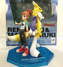 2pc/Set Digimon Tamers Renamon & Ruki Makino G.E.M Series Figurine Figure No Box