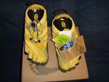 New listing Vibram V-Trail Women Shoes Yellow / Black 6.5Us / 37.0Eu Nib