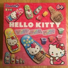 New & Sealed - Sanrio - Hello Kitty - 5 Wooden Russian Dolls To Decorate (2013)