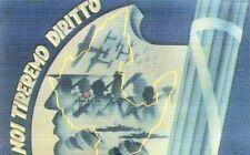 Riproduzione Cartolina Propaganda 1936 Vittoria Africa Orientale Noi tireremo dr