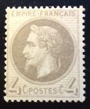 France N° 27 B 4 c Gris Neuf ** signe Valves TTB Cote 350€ +50%