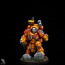 Tor Garadon Imperial Fists Painted Figure Warhammer 40K Pre-Sale | Art Quality