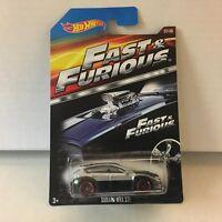 Subaru WRX STI * Silver/Black * Hot Wheels Fast & Furious * NE9