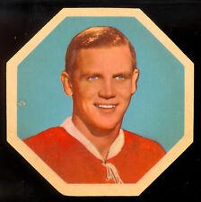 1961-62 YORK PEANUT BUTTER YELLOW BACK #24 Ralph Backstrom EX Montreal Canadiens