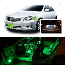 For Toyota Avalon 2005-16 Green LED Interior Kit + Xenon White License Light LED