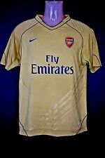 Arsenal FC Nike football soccer shirt jersey training gold Youth XL 2009