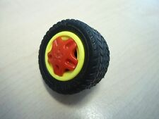 """Playmobil Ersatzteile 4184 """"Reifen mit Achse""""   gebraucht"""
