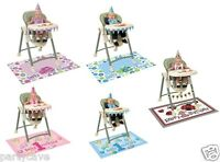 First 1st Birthday Party Boy Girl Blue Pink High Chair Kit Hat Banner Decoration