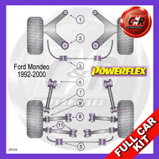 Ford Mondeo Mk2 08/98-00 Front Wishbone Bushes 60mm Powerflex Complete Bush Kit