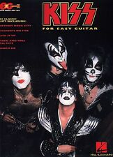KISS EASY GUITAR TAB SHEET MUSIC SONG BOOK ACE FREHLEY