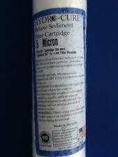 "HYDRO CURE DELUXE 5 MICRON 20""x2.5"" SEDIMENT FILTER - 12 FILTERS"