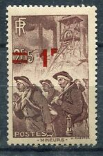 FRANCE TIMBRE NEUF N° 489 ** MINEURS